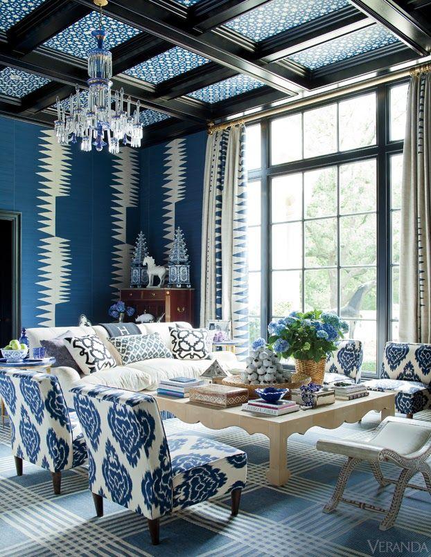 Wow, blå kan være kult når det er brukt rikitig. Digger dette!