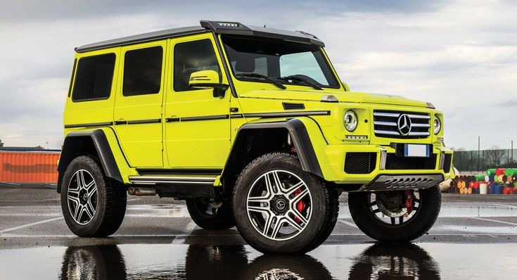Forget About The New G-Class; The Mercedes G500 4×4² Is The One You Want #news #Auction