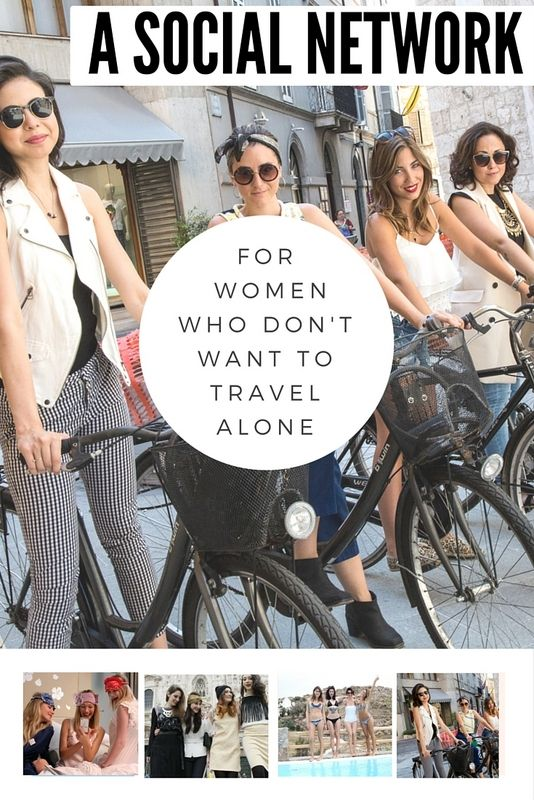 While solo female travel is increasing by +30% year after year, sometimes it just comes down to the fact that you don't want to travel alone.
