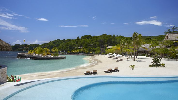 Would you rather lounge by the beach or the pool at the GoldenEye Hotel and Resort on Jamaica's North Coast?