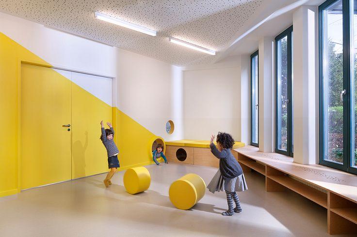 Projekt kita zauberzwerge i de 12163 berlin for Raumgestaltung innenarchitektur studium