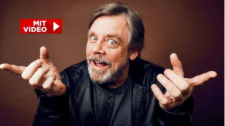 Mark Hamill spielt nach 40 Jahren wieder die Rolle des Luke Skywalker. Beim BILD-Besuch erzählte der Hollywood-Star über seine Rolle.