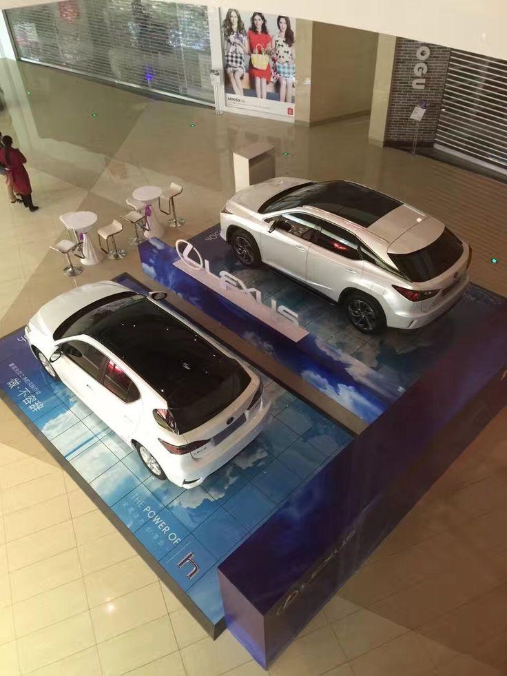 PromoDek used by Lexus