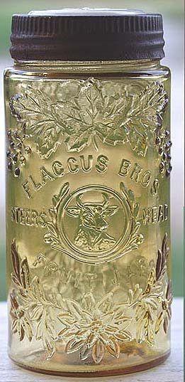 Beautiful vintage mason jar