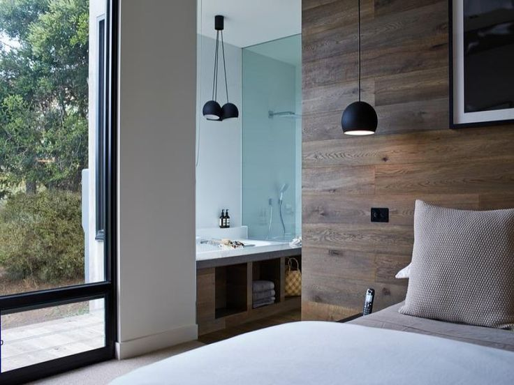 17 best ideas about timber feature wall on pinterest for Black feature wall bedroom ideas