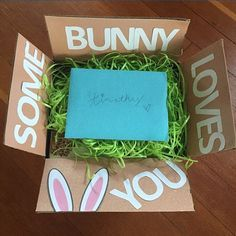 Thanks for sharing @cadycookston17❤️❤️❤️ Easter care package