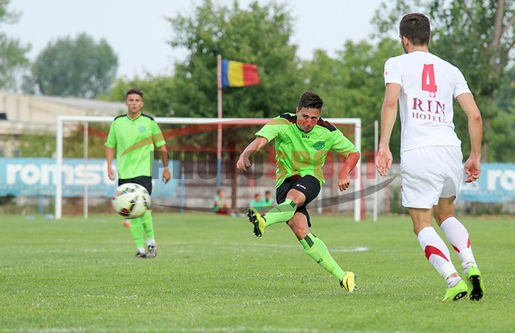 Adrian Mitea, debut cu gol și bară la Metaloglobus