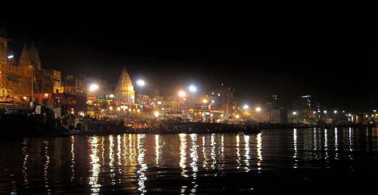 Dev Diwali Celebration Varanasi India 8X10 Photograph  chamelagiri.etsy.com