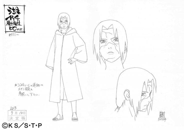 Naruto Character Design Sheet : Itachi uchiha edo tensei by fridauchiha d rpyx g
