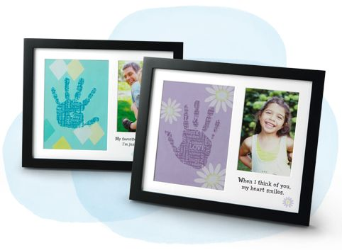 Magic Prints! Magic ink turns your hand print into a unique piece of art