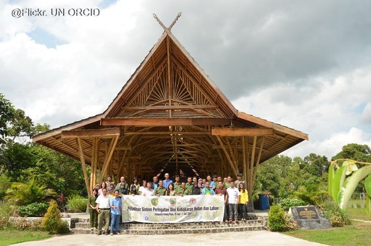 Bamboo Climate Communications Centre Indonesia, Central Kalimantan, 2013 - widhi nugroho