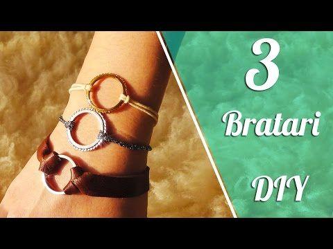 Cum Sa Faci 3 Bratari Foarte Usor | DIY