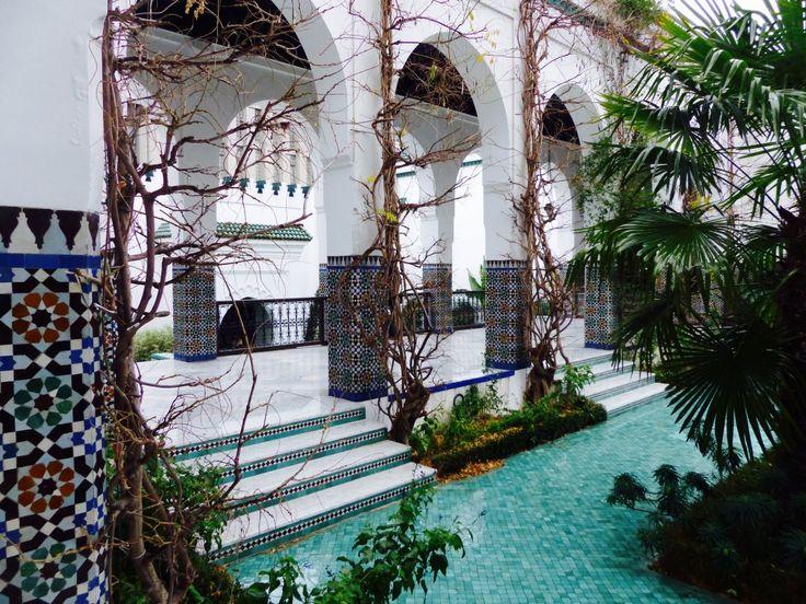 La grande mosquée Paris. Blog Voyage. Blog Lifestyle.