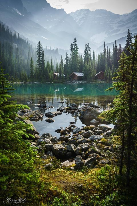 Lake OHara Yoho National Park Canada | Carrie Cole Say Yes To Adventure