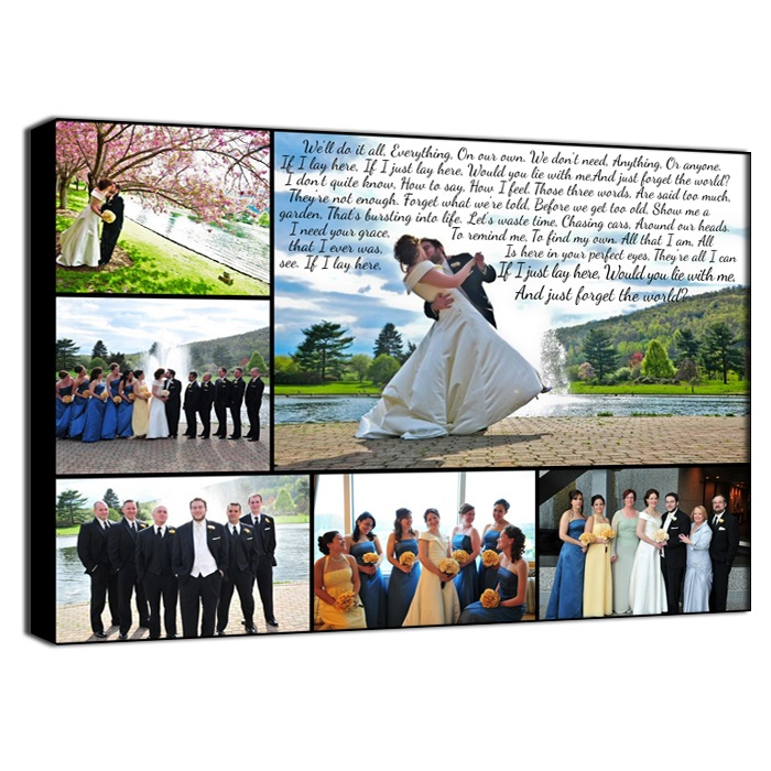beautiful lines for5th wedding anniversary%0A Second wedding anniversary gift not of wedding photos though  maybe of anny  trip