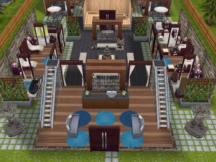 62 best sims freeplay house ideas images on Pinterest | Sims house ...