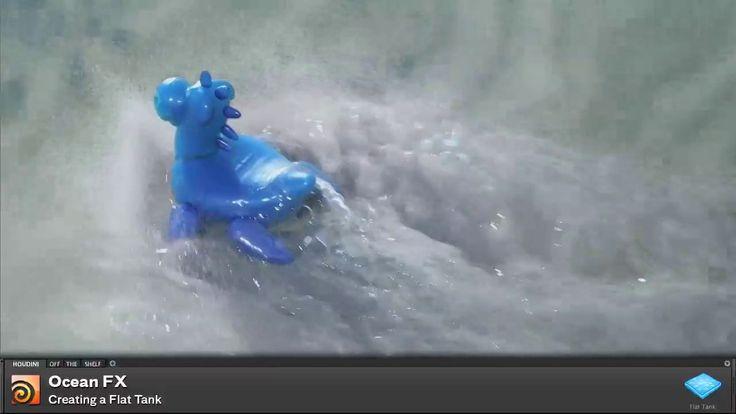Houdini off the Shelf | Flat Tank on Vimeo