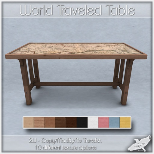 Alouette - World Traveled Table (AD) | Flickr - Photo Sharing!