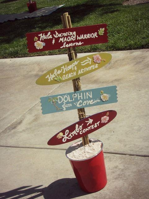 "Photo 1 of 50: Luau / Birthday ""Aloha! Vintage Hawaiian Luau""   Catch My Party"