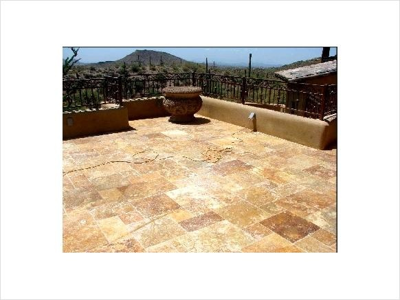 15 best Travertine patios images on Pinterest | Travertine ... on Travertine Patio Ideas id=59368