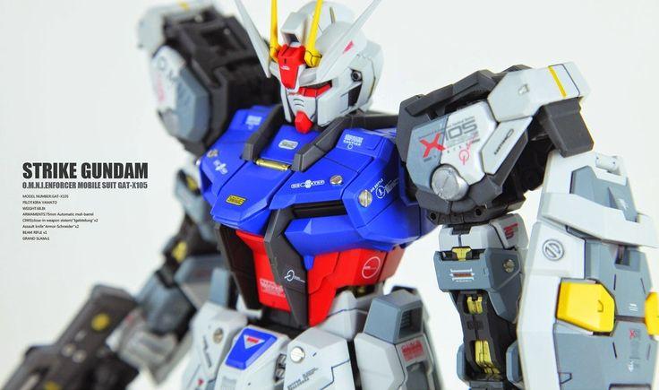 GUNDAM GUY: PG 1/60 GAT-X105 Strike Gundam - Customized Build