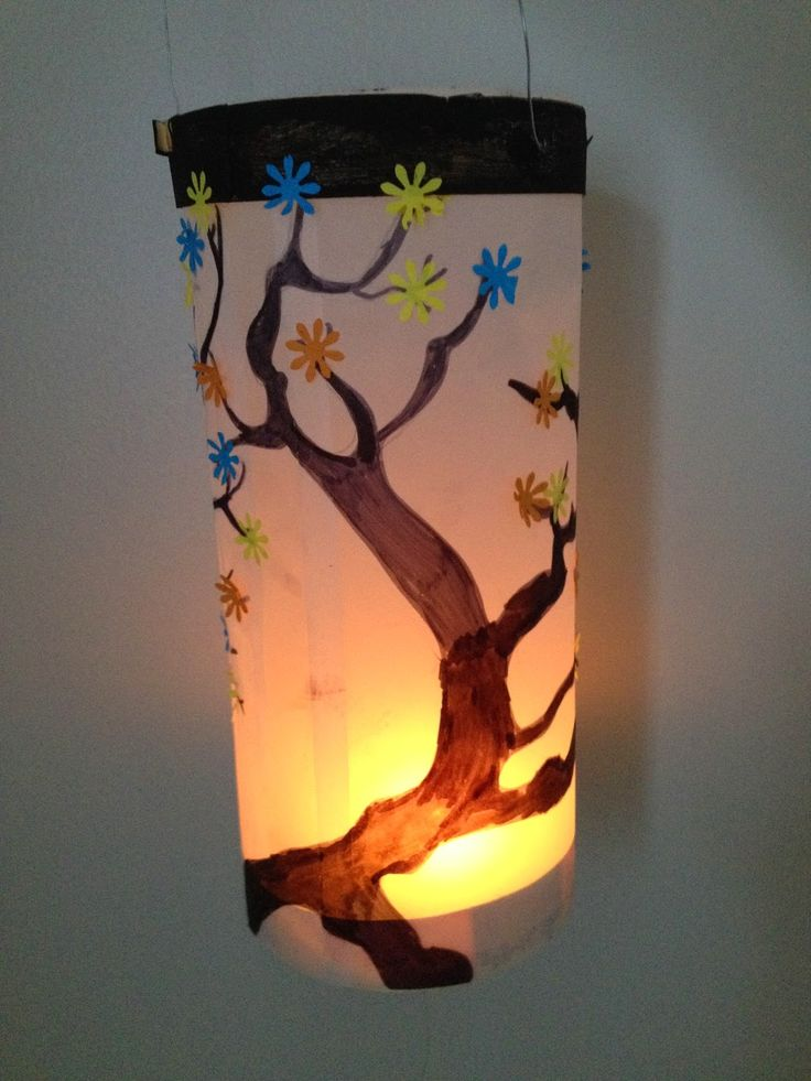 Lanterne papier calque et boite à fromage http ...