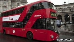 New Routemaster. With 62 seats at a cost of £1.4m, the cost per seat is £22,580. ~ can't wait to posh it up on a 38 soon
