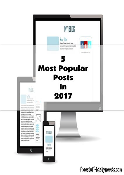 5 Most Popular Posts In 2017 as chosen by you. Exploring everything from grocery shopping to utility bills, and more. Helping to address poverty issues.