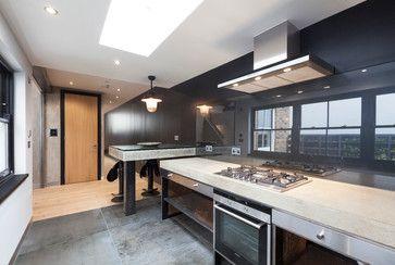 321 Portobello Road - contemporary - Kitchen - London - CUBIC Studios Limited