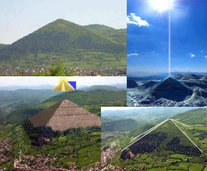 The oldest known pyramids in the world in Bosnia may confirmed presence of extra terrestrial intervention due to its estimated age (12 to 26 thousand years) and unknown technology used to build the also largest pyramid. It has been confirmed by engineers and archeologist that even today, we can't replicate such fits. It's an unexplained Artificial Structure.  Mikulaš Mikulec sends us in this interesting collage and text - 'Pyramids in Bosnia are oldest in the world In Bosnia was discovered…