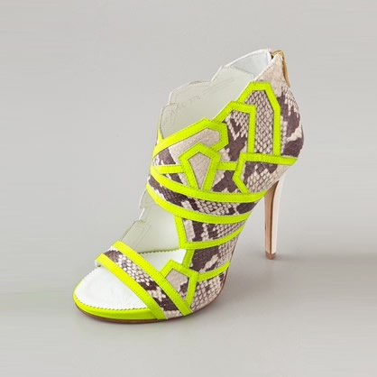 Current Obsession: Neon Booties