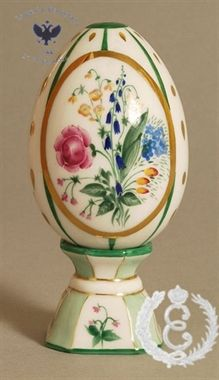 Goldilocks Porcelain Easter Egg