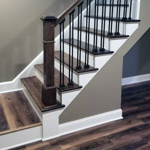 Top 70 Best Basement Stairs Ideas Staircase Designs Basement Steps Staircase Design Basement Design