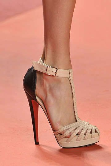 saturday morning christian louboutins - these are from phillip lim's runway show. #shoeporn #louboutin