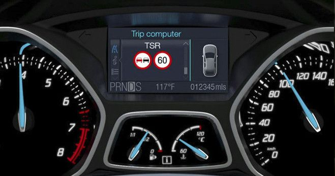 #Ford #TrafficSignRecognition.The innovative #Traffic #Sign #Recognition #technology from Ford, identifies #trafficsigns and then displays them on the #instrumentpanel. It even flashes when you're over the #speedlimit, helping you to #drive legally and #safely.