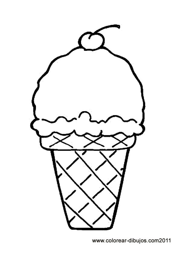 1000 ideas about Ice Cream Coloring Pages on Pinterest