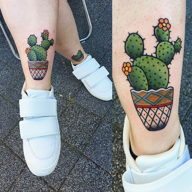 Perfect weather for a  thanks Kimberley! #cactus #tattoo #summer #ink…