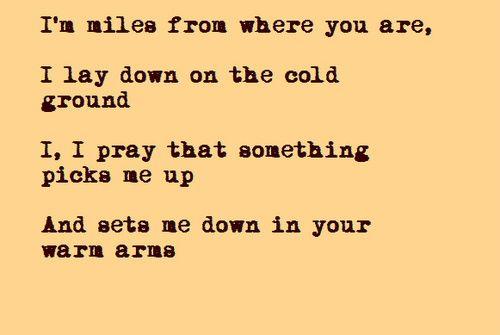 Set Fire to the Third Bar by Snow Patrol #Lyrics