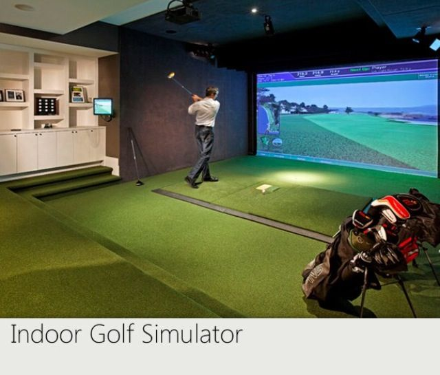 Indoor Golf Simulator!
