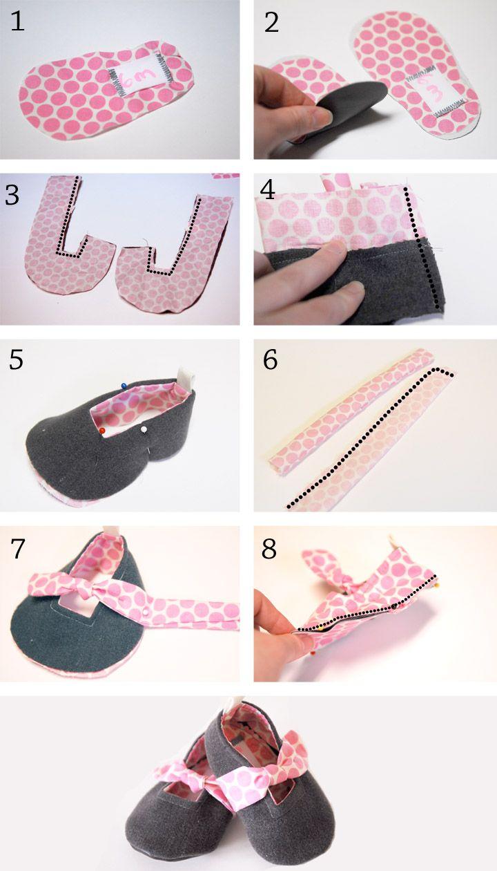 Shwin: Forget-Me-Knot Shoes {Free PDF Pattern}