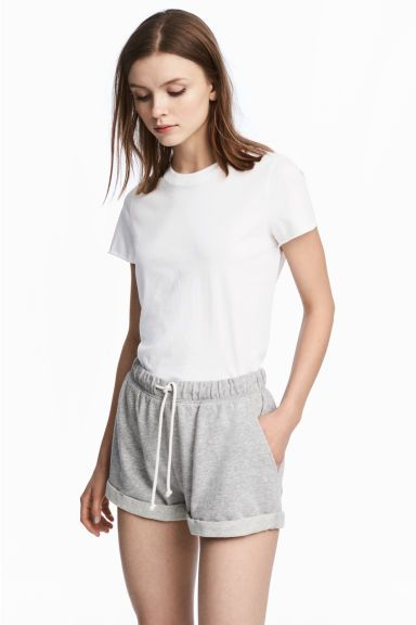 T-shirt en coton - Blanc - FEMME | H&M FR 1