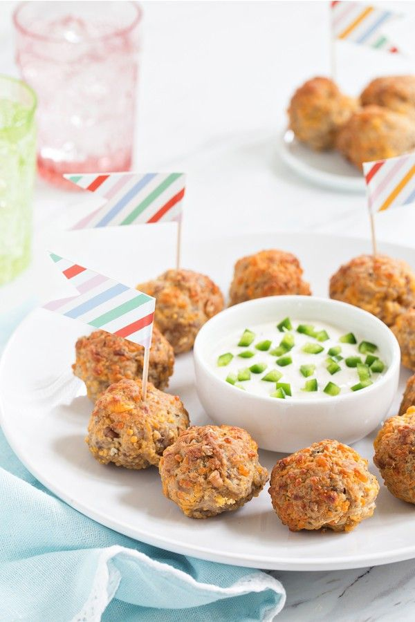 Sausage Cheese Balls