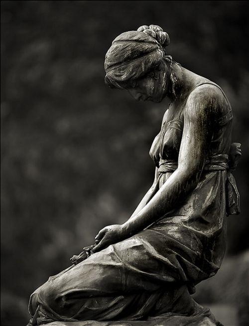 Cemetery Statuary: Sorrow