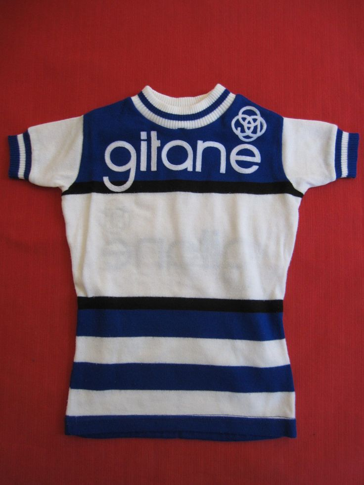 Maillot Cycliste Cycles Gitane Tour DE France Vintage 70'S Vélo BE 8 ANS   eBay