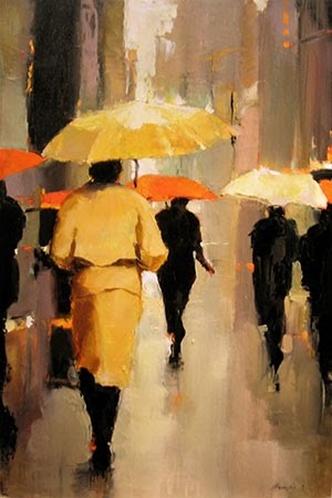 CARMENSABES POESIA Y ARTE: Lorraine Christie, días de lluvia y besos