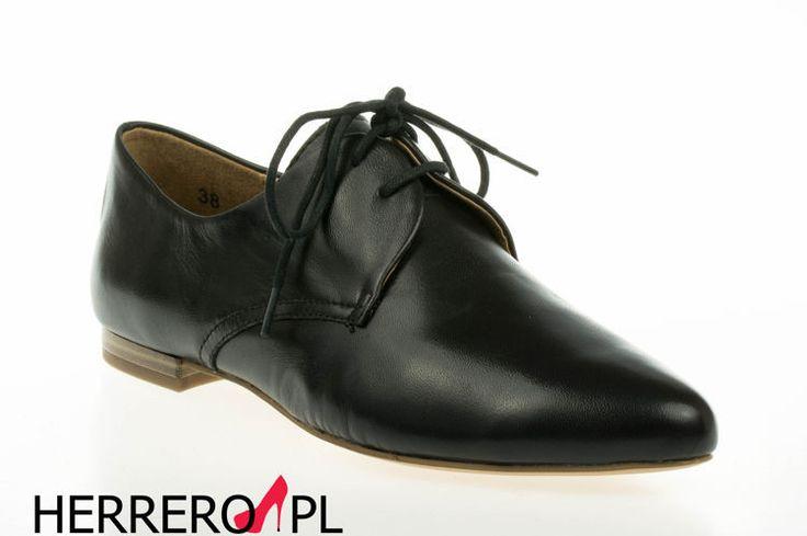 Czarne, stylowe #półbuty #CAPRICE. Jak Wam się podobają? Bo nam bardzo!  #moda #modadamska #kobiety #buty #obuwie