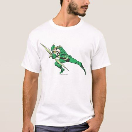 Green Arrow Crouches T-Shirt - tap to personalize and get yours