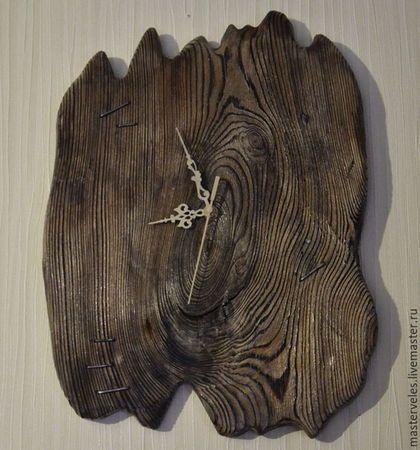 Часы для дома ручной работы. Ярмарка Мастеров - ручная работа. Купить Часы настенные деревянные. Handmade. Интерьер, ручная работа
