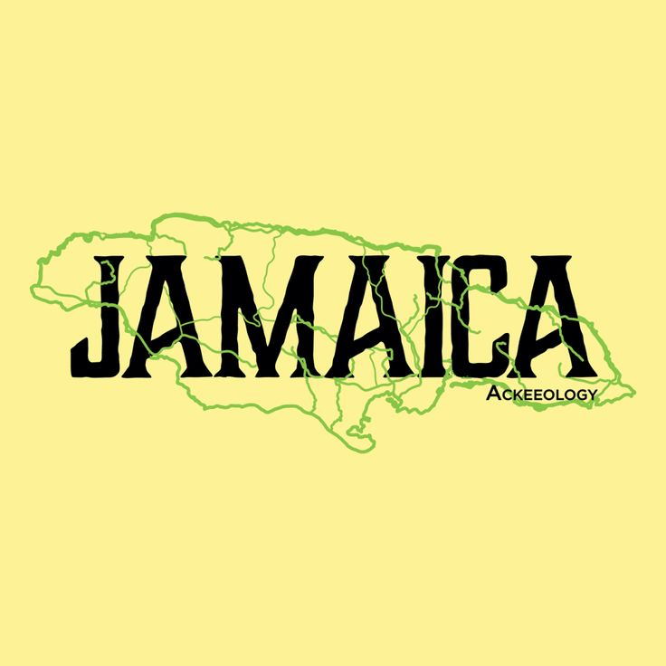 JAMAICAN+MAP. Contoured fit men's t-shirt. Jamaica+Map printed soft to the touch. Available in yellow and red. #Jamaican