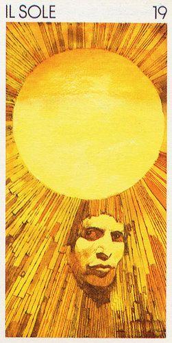 The Sun - Tarocchi Universali di Sergio Toppi / Embodied